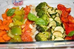 Verduras y hortalizas asadas