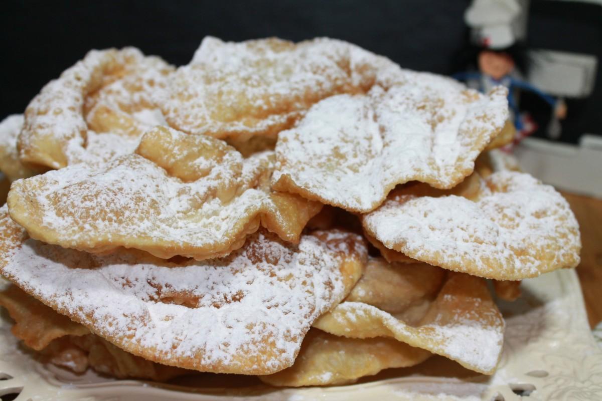 Orejas de carnaval gallegas (Orellas de Antroido)